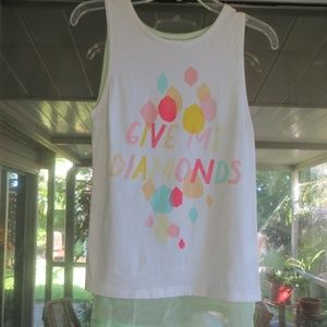 """AFENDS """"GIVE ME DIAMONDS """" TOP NWT *sale*"""